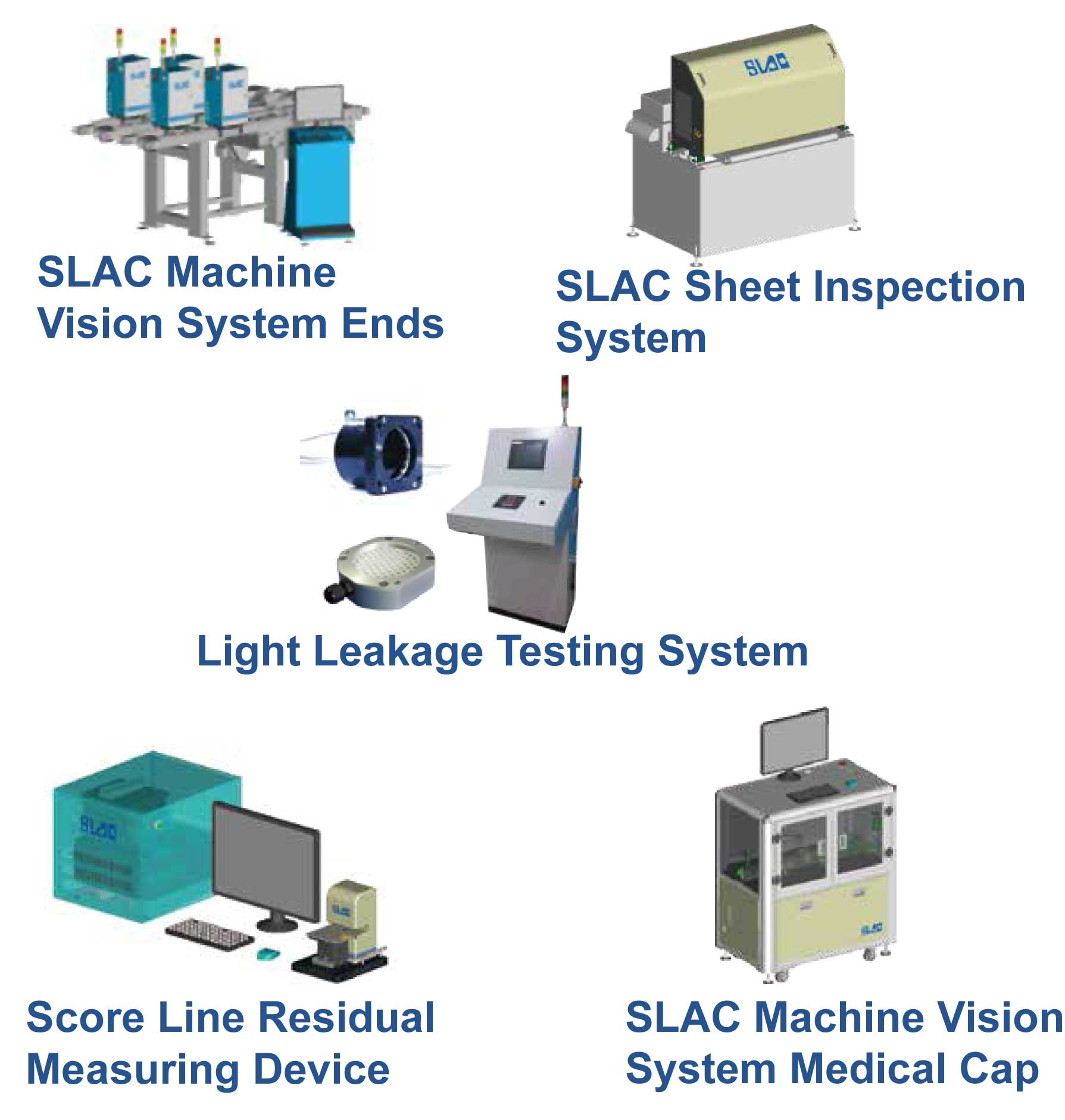 SLAC Can Outside Printing Inspection System - SLAC Products