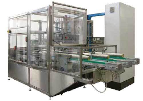 Can Line Automatic Plastic Wrapper